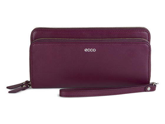 ECCO Deline Clutch Wallet (BURGUNDY)