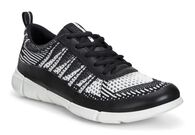 ECCO Womens Intrinsic KnitECCO Womens Intrinsic Knit in BLACK/WHITE (50669)