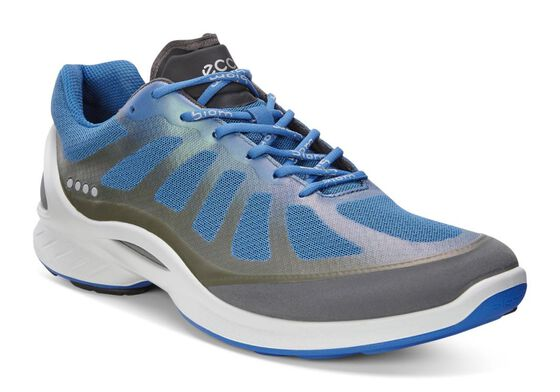 ECCO Mens BIOM Fjuel Racer (DARK SHADOW/BERMUDA BLUE)
