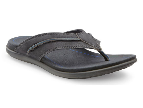 ECCO Collin Sandal Thong (BLACK)