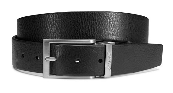 ECCO Sporty Belt (BLACK/COFFEE)