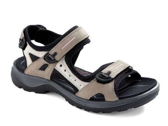 ECCO Womens Yucatan Sandal (ATMOSPHERE/ICE W./BLACK)
