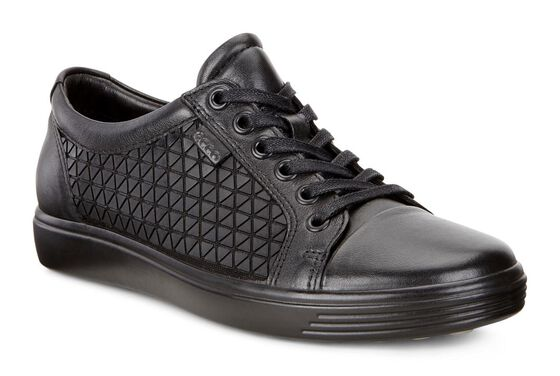 SOFT7 Ladies Textile Low Cut (BLACK/BLACK)