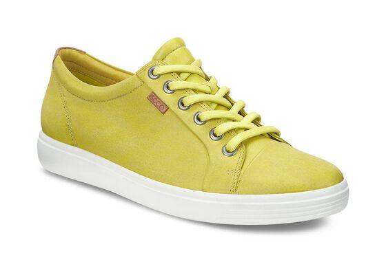 ECCO Womens Soft 7 Sneaker (SULPHUR)