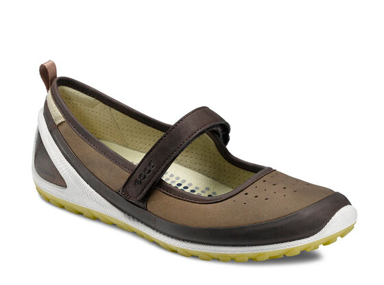 ECCO Womens BIOM 1.2 Mary Jane (COFFEE/PEBBLE)