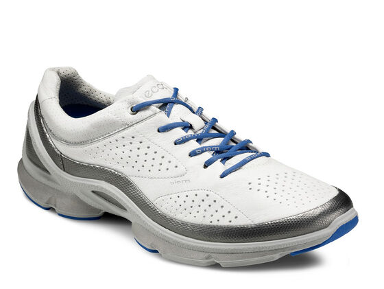 ECCO Mens BIOM EVO Train Plus (SILVER METALLIC/WHITE/CONCRETE)