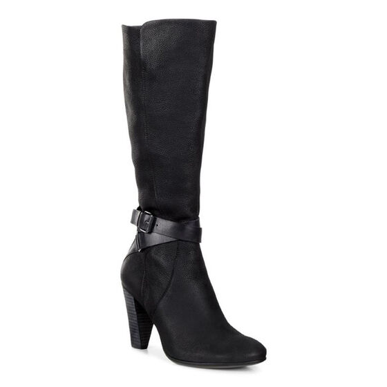 ECCO Shape 75 Tall Boot (BLACK/BLACK)