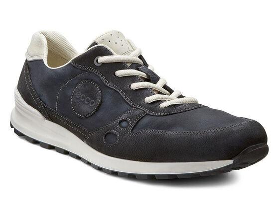 ECCO Mens CS14 Retro Sneaker (BLACK/BLACK/SHADOW WHITE)