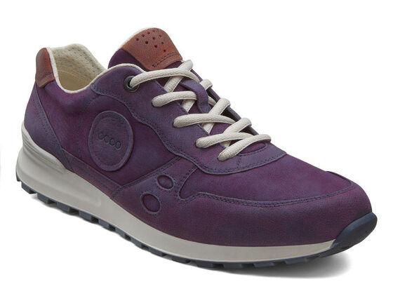 ECCO Womens CS14 Retro Sneaker (BURGUNDY/BURGUNDY/PICANTE)