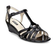 ECCO Rivas 45 WedgeECCO Rivas 45 Wedge in BLACK/BLACK (51052)
