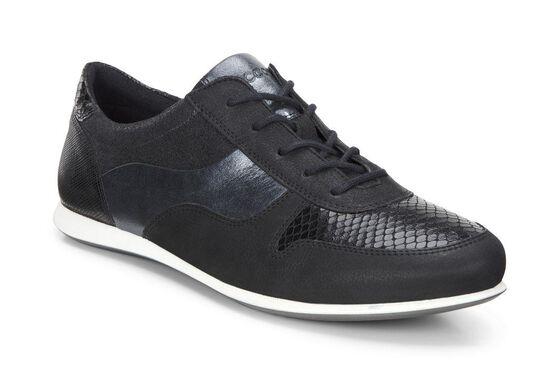 ECCO Touch Sneaker Tie (BLACK/BLACK)