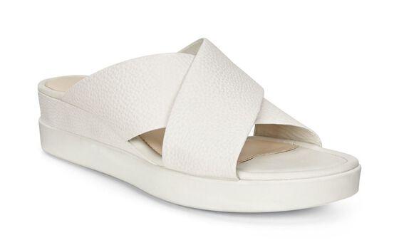 ECCO Touch Slide Sandal (WHITE)