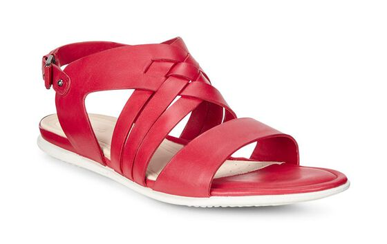 ECCO Touch Braided Sandal (CHILI RED)