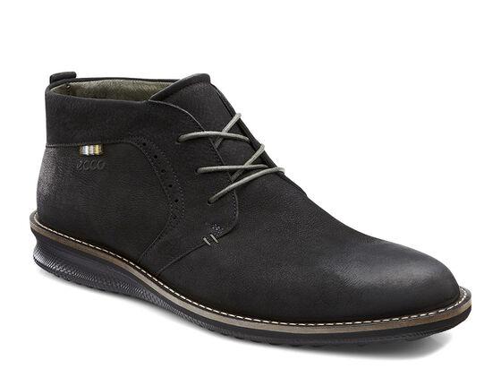 ECCO Contoured Chukka Boot (BLACK)