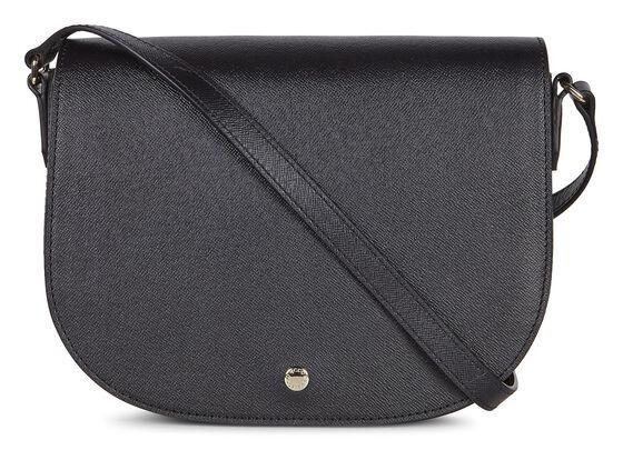 IOLA Medium Saddle Bag (BLACK)
