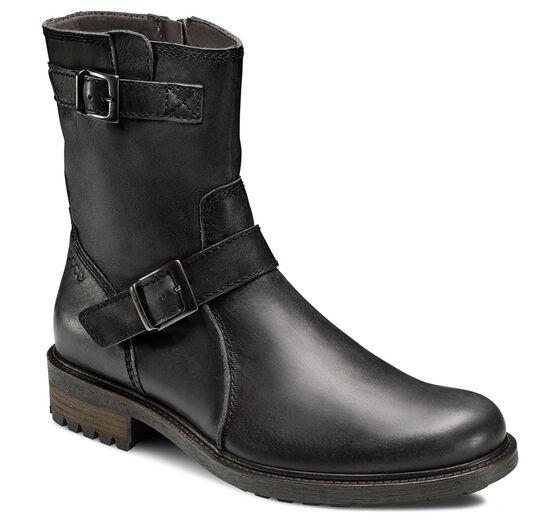 ECCO Delmas Zip Boot (BLACK)