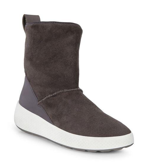 ECCO Womens Ukiuk Short Boot (SLATE/SLATE)
