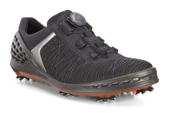 ECCO Mens Cage BOA (BLACK/FIRE)