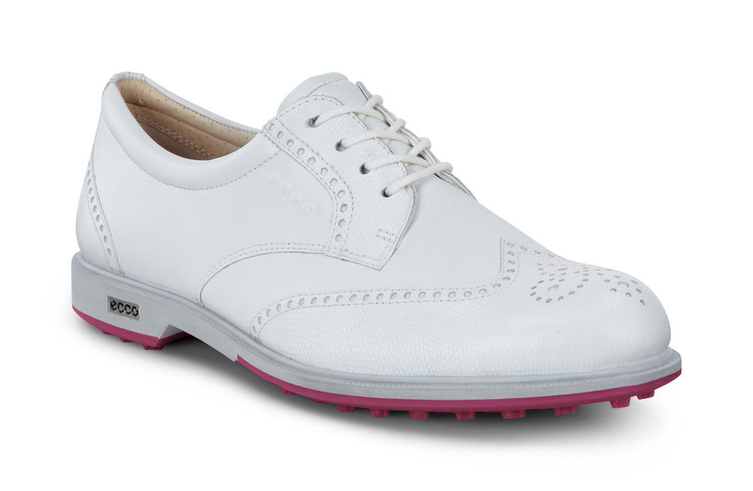 ECCO Golf - Classic Golf Hybrid (White) Women's Golf Shoes
