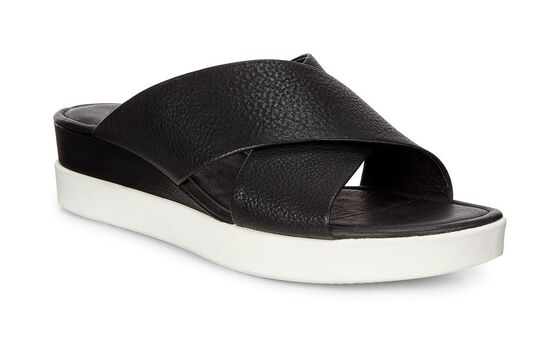 ECCO Touch Slide Sandal (BLACK)