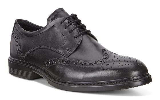 ECCO Lisbon Brogue à lacet (BLACK)