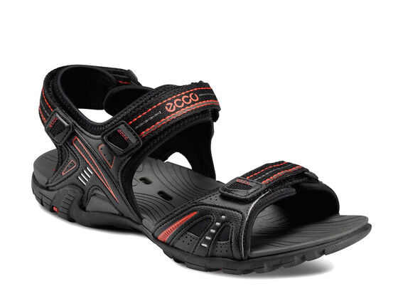 ECCO Womens Tama Sandal (DARK SHADOW/TITANIUM)
