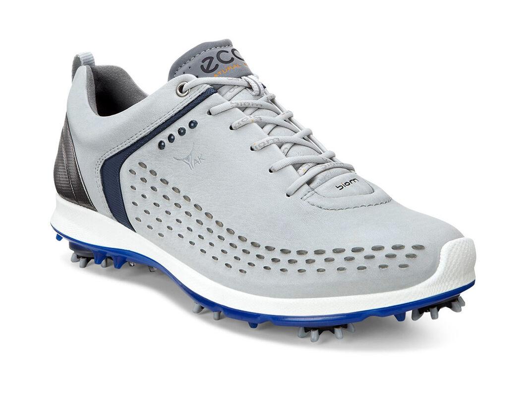 Men's ECCO 'Biom' Hydromax Waterproof Golf Shoe, Size 5-5.5US / 39EU - Grey