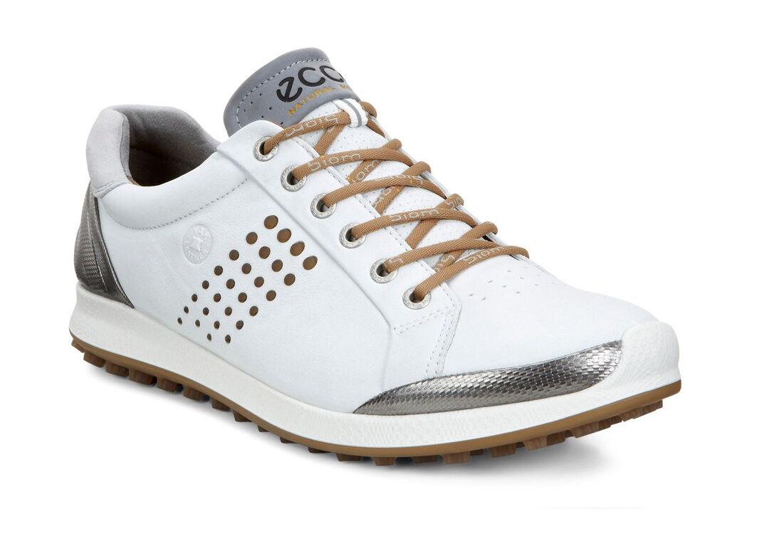 Men's ECCO 'Biom Hybrid 2' Golf Shoe, Size 5-5.5US / 39EU - White