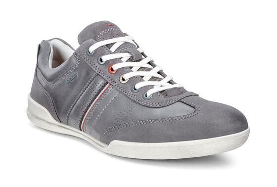 ECCO Enrico Retro Sneaker (MOONLESS/TITANIUM)