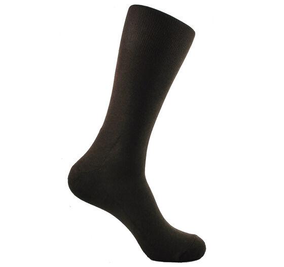ECCO Mens Dress Cushion Sock (POWDER BROWN)