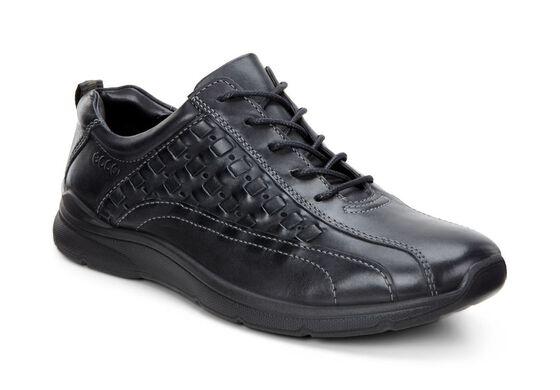 ECCO Irving Sneaker Tie (BLACK)