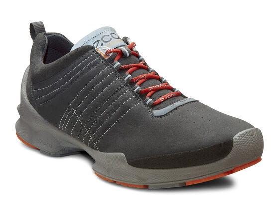 ECCO Mens BIOM Train (DARK SHADOW/DARK SHADOW/PICANTE)