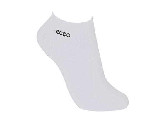 ECCO Womens Cushion Logo Sock (WHITE)