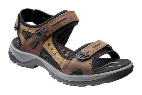 ECCO Womens Yucatan Sandal (BISON/MINERAL/BLACK)