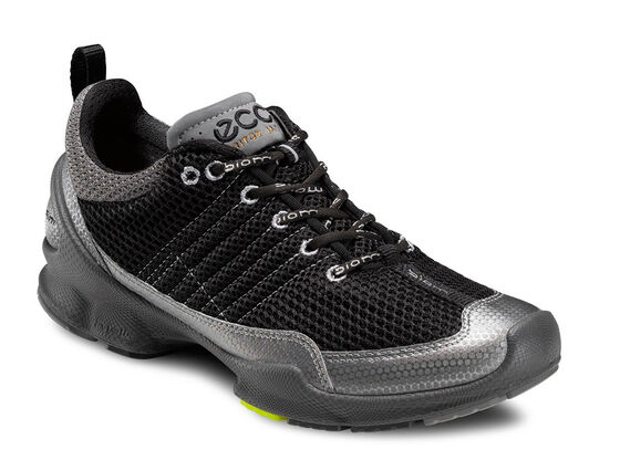 ECCO Mens BIOM Train 1.2 (TITANIUM METALLIC/BLACK)