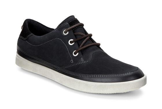 ECCO Aimee Nautical Sneaker (STEEL/WARM GREY/WARM GREY)
