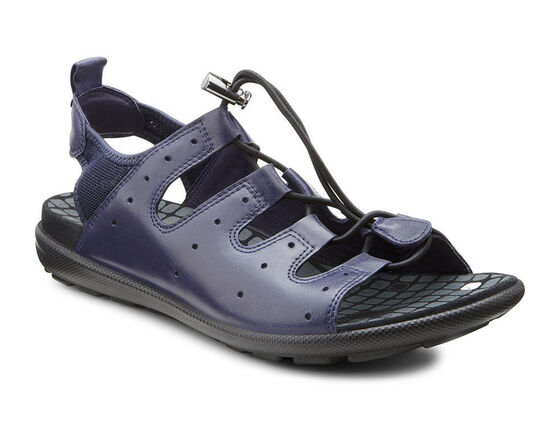 ECCO Jab Toggle Sandal (MIDNIGHT/MARINE)