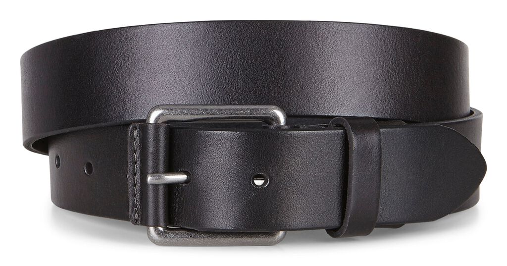 ECCO Jon Casual Belt (BLACK)