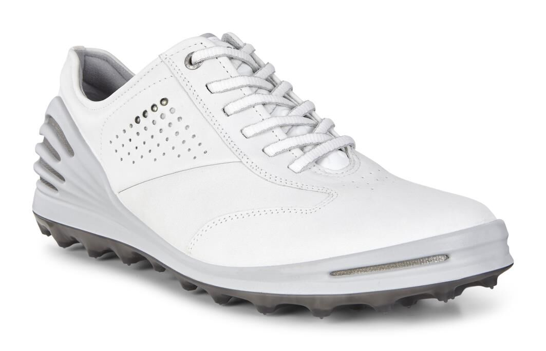 Ecco Cage Pro Golf Shoes, White