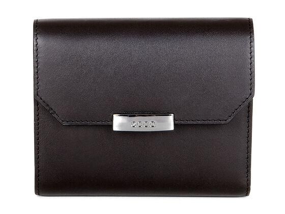 ECCO Glade French Wallet (BLACK)