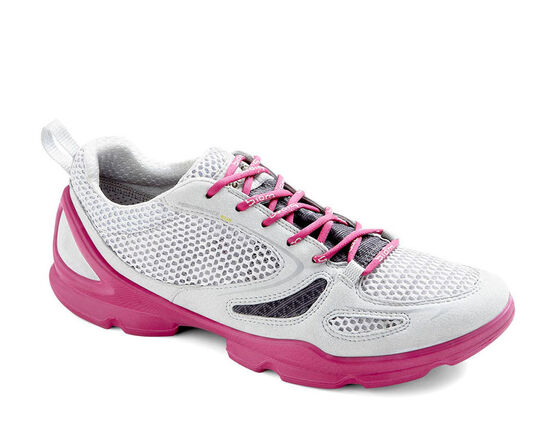 ECCO Womens BIOM EVO Race Lite (CONCRETE/DARK SHADOW/FUCHSIA)