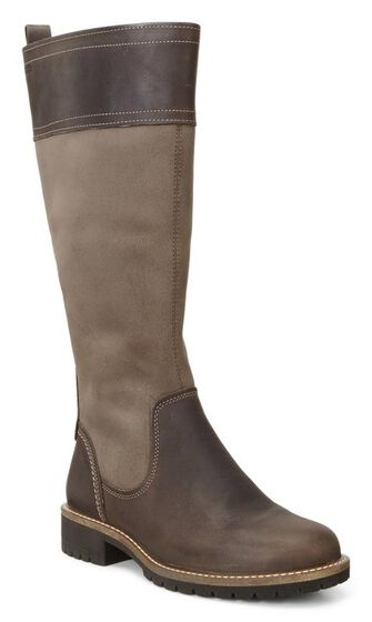 ECCO Elaine Tall Boot (COCOA BROWN/STONE)