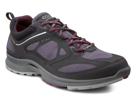 ECCO Wmns BIOM Ultra Quest GTX (BLACK/LIGHT PURPLE/BURGUNDY)