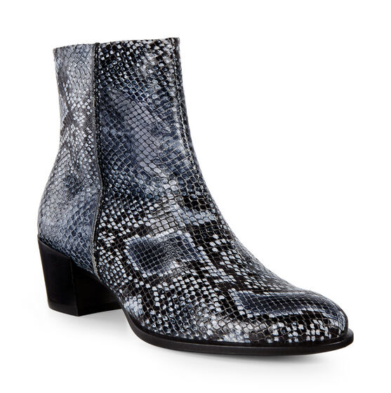 ECCO Shape 35 Snakeskin Boot (TRUE NAVY)