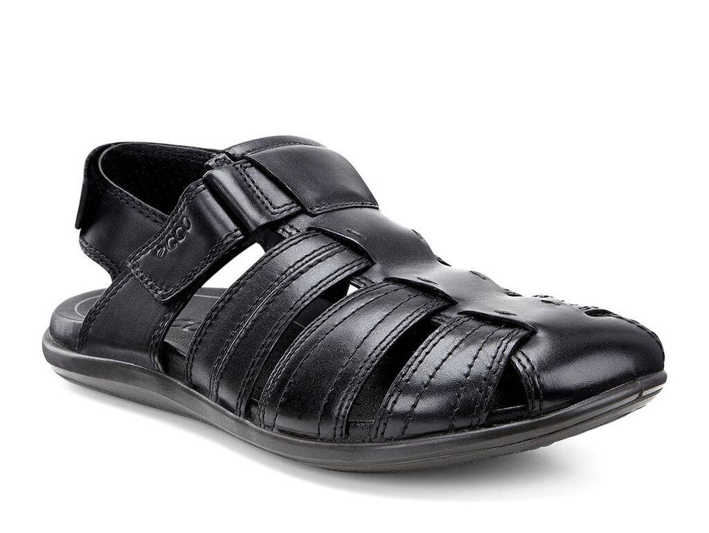 Black ecco sandals - Ecco Chander Fishermanecco Chander Fisherman In Black 01001