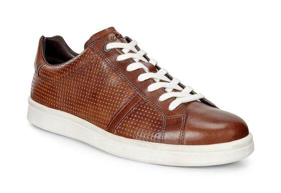 ECCO Kallum Premium Sneaker (WHISKY)