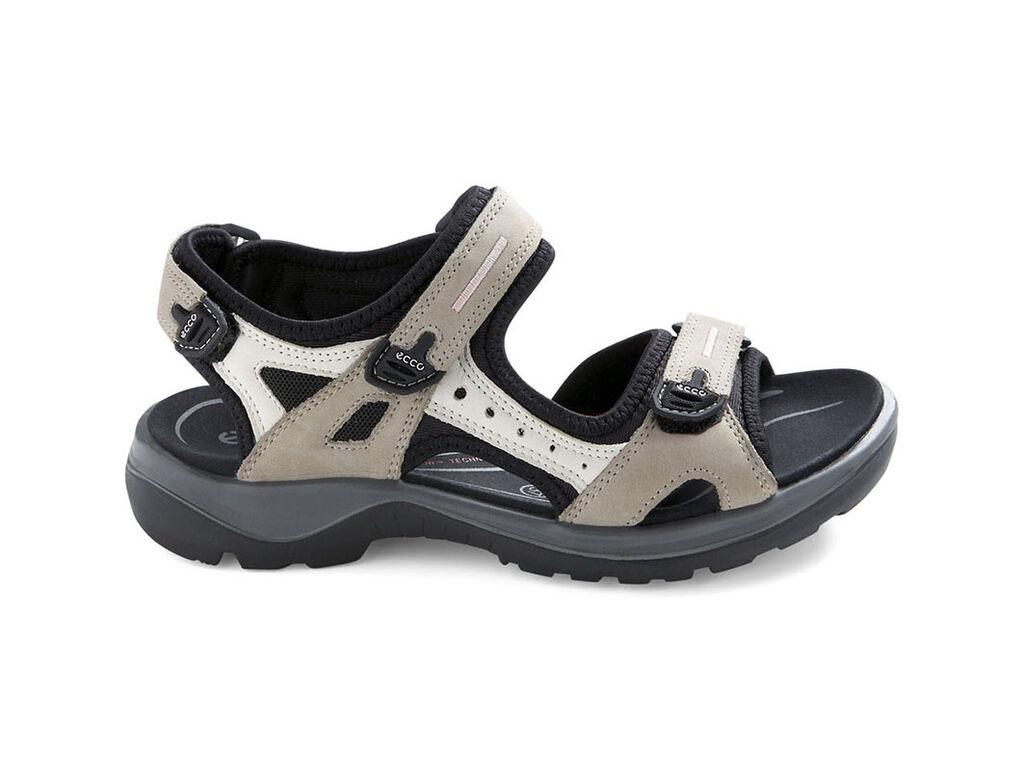 Black ecco sandals -  Ecco Womens Yucatan Sandalecco Womens Yucatan Sandal In Atmosphere Ice W Black