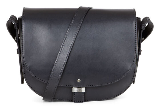 ECCO Glady Small Saddle Bag (BLACK)