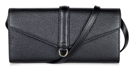 ECCO Isan Clutch Wallet (BLACK)