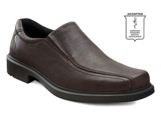 ECCO Helsinki Bike Toe Slip On (COFFEE)